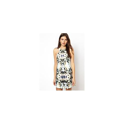 Finders Keepers Dress in Unbelievers Graphic Print