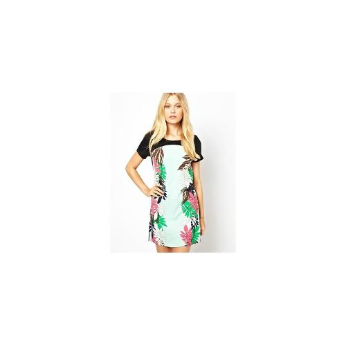 Vero Moda Mini Dress With Mirror Print