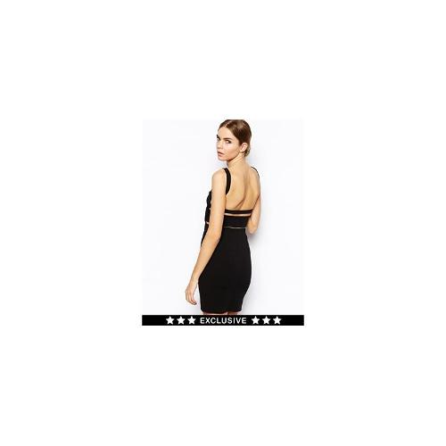 Solace London Mondino Bodycon Dress with Low Back