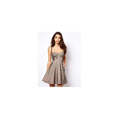 ASOS Cupped Lace Skater Dress