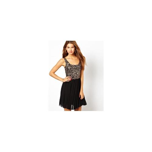 Motel Sally Dress with Sequins