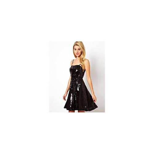 French Connection Glacier Sequins Strap Mini Dress