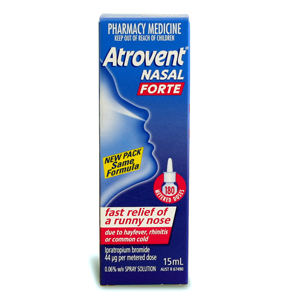 ATROVENT NASAL SPRAY FORTE 15ML - 180 DOSES