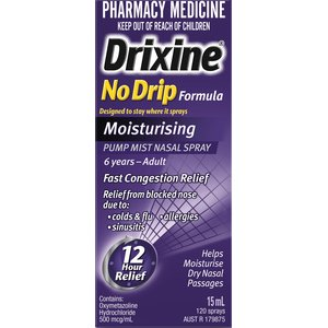 DRIXINE NO DRIP MOISTURE SPRAY 15ML