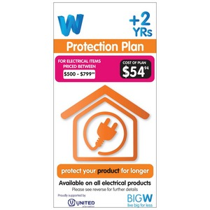 Protection Plan for $500.00-$799.99 Electrical Items