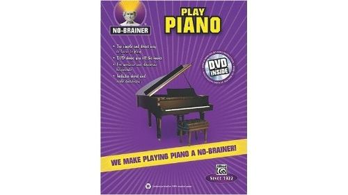 Alfred No-Brainer: Play Piano Book & DVD
