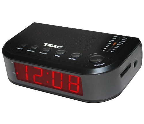 Teac Single Alarm Clock Radio