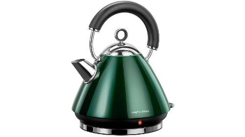 Morphy Richards Accents Traditional Kettle - Emerald Green