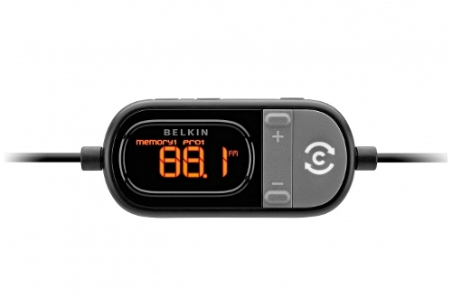 Belkin TuneCast Auto Live with GPS Assist FM Transmitter