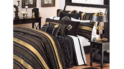 Templeton Black Standard Pillowcase Each