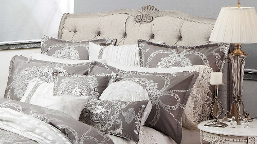 Cameo French Grey Long Cushion