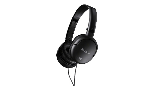 Sony MDR-NC8 Noise Cancelling Over Ear Headphones - Black