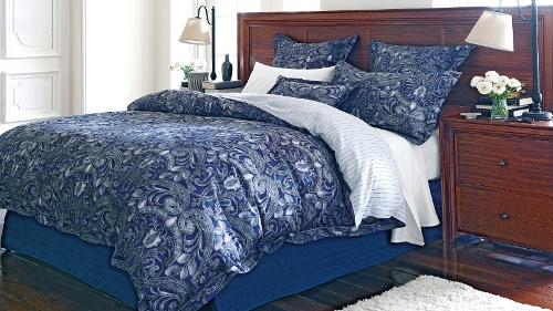 Stratton Lapis Queen Quilt Cover