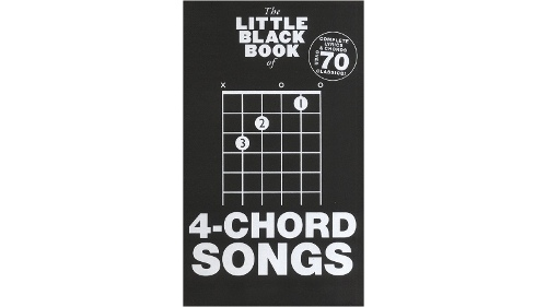 The Little Black Book of 4-Chord Songbook