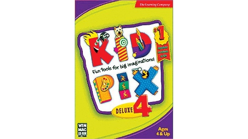 Learning Company - Kid Pix Deluxe 4