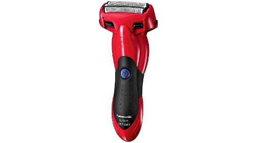Panasonic 3 Blade Wet/Dry Rechargeable Shaver - Red