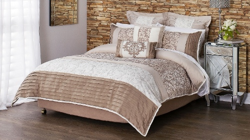 Lafayette French Grey Double Quilt Cover Set