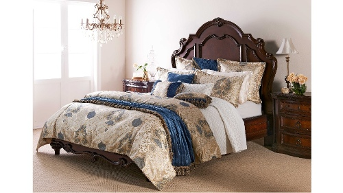 Palazzo Gold King Quilt Cover