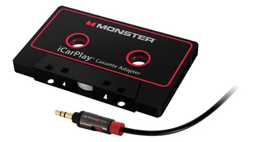 Monster iCarPlay Cassette Adaptor 800