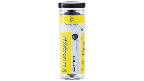 Dunlop Pro XX Double Squash Ball Pack of 3