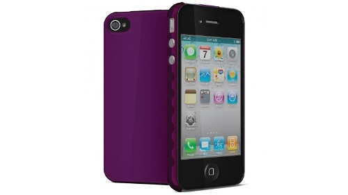 Cygnett Aerogrip iPhone 4/4S Cover - Purple