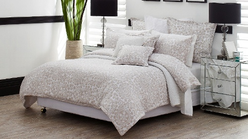 Mantra Linen King Quilt Cover