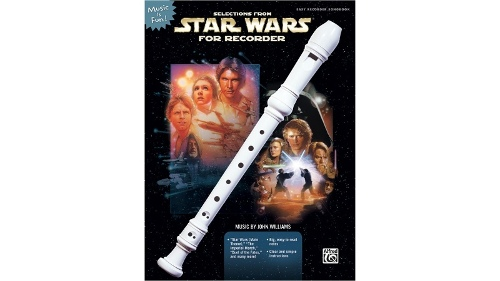 Alfred Star Wars For Recorder Songbook