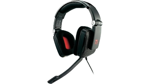 Thermaltake SHOCK Premium Foldable Gaming Headset with Microphone - Black