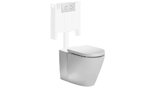 Fowler Seido Icon Series II Wall Faced Toilet Suite