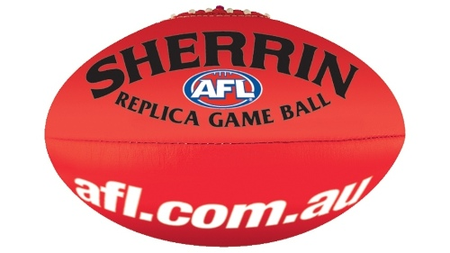 Sherrin AFL Replica Match Ball Size 5