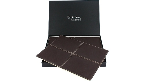 de Burg Quattro Placemats Pack - Brown