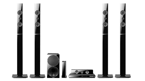 Samsung HT-E5550W 5.1 Channel 3D Capable Blu ray Home Theatre System