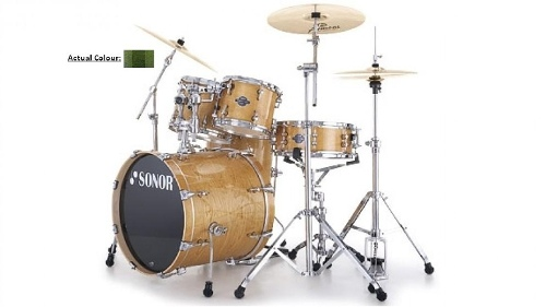 Sonor Essential Force Stage 3 Green Fade Drum Kit