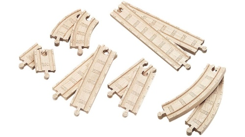Thomas & Friends Wooden Railway Straight and Curved Expansion Pack