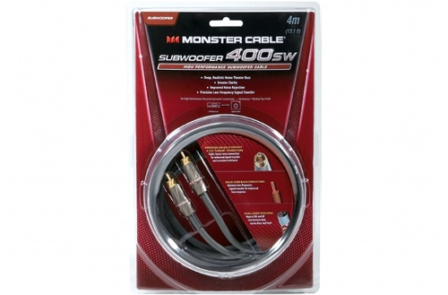 Monster 400SW High Performance Subwoofer Cable