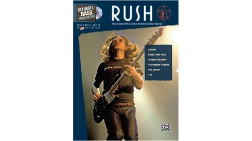 Alfred Ultimate Bass Play-Along Rush Songbook