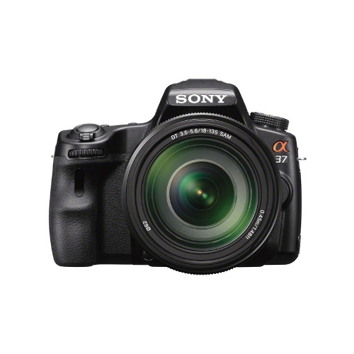 Sony A37 SLT Camera with 18-55mm Lens