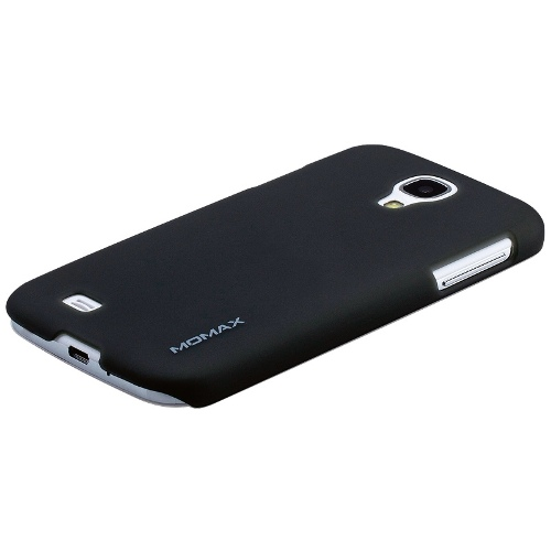 Momax Samsung S4 Clip Case with Screen Protector - Black