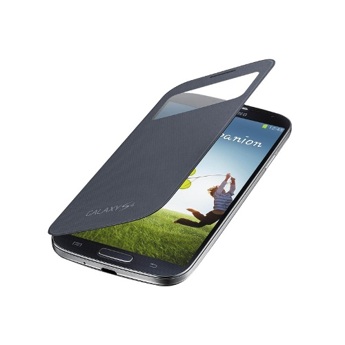 Samsung S-View Flip Case for GALAXY S4 (Black)