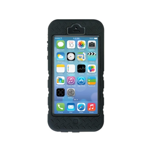 Gecko Rugged Case for iPhone 5/5S (Black)