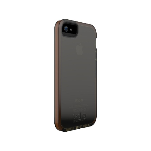 Tech21 Impact Shell Case for iPhone 5/5S (Smokey)