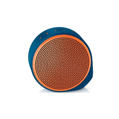 Logitech X100 Bluetooth Portable Speaker - Orange