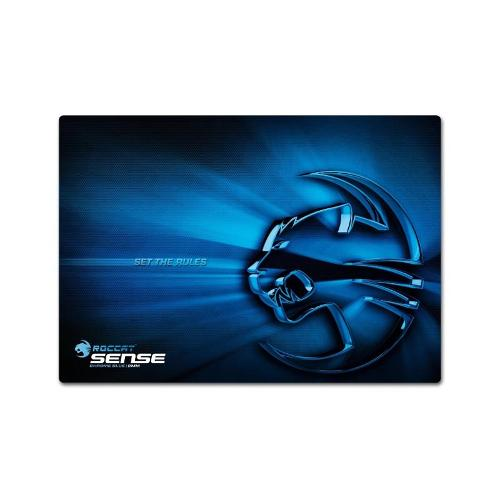 Roccat Sense Gaming Mouse Pad - Chrome Blue
