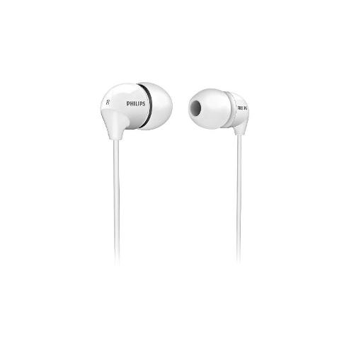 Philips In-Ear Headphones Dynamic bass Compact Earphones With Soft Caps