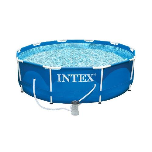Intex 10FT Metal Frame Pool Set