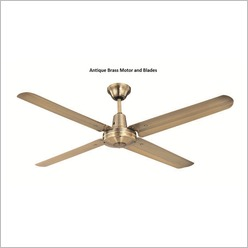 Hunter Pacific - Typhoon 142cm (56) Ceiling Fan with Metal Blades Finish: White - Ceiling Fans