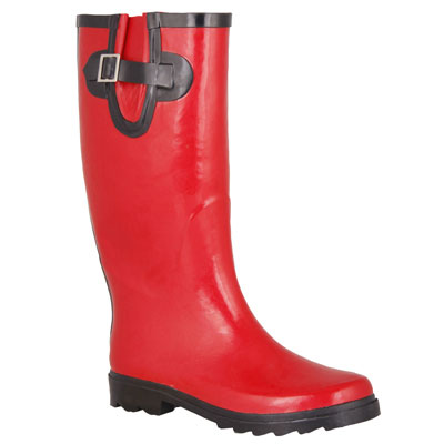 Wild Country Candy Gumboots - Ladies, Red, 5