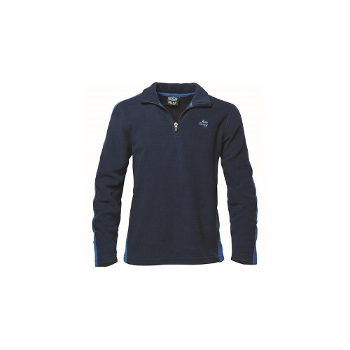 Wild Country Slice 1/4 Zip - Youth, Blue, XL