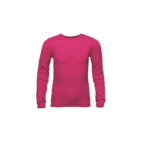 Wild Country Polypro Thermal Top - Kids, Dk Pink, XL