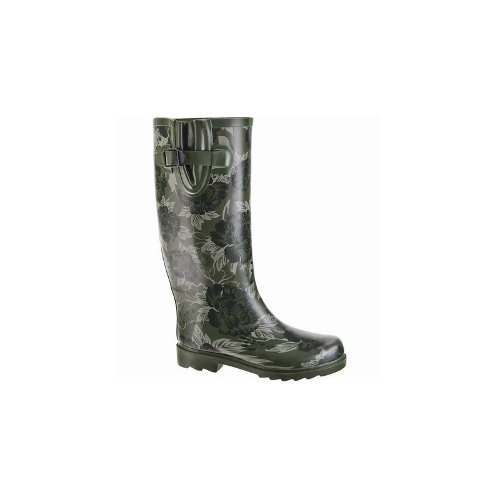 Wild Country Candy Gumboot - Womens, Green Floral, 7